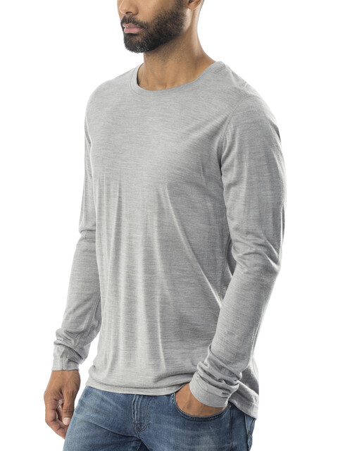 Röjk M's Stroller LS Shirt sweet salmiak